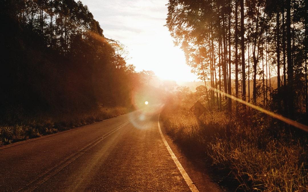 Fahrtweg zur Arbeit, wenn für 45 Minuten eine kreative und exclusive Auszeit entsteht