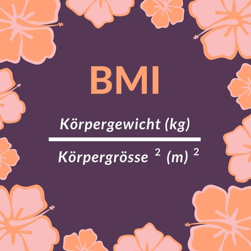 BMI Formel