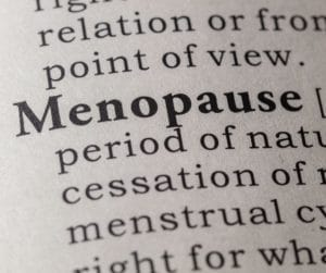 Menopause - period of nature