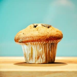 Dicker Muffin - mit Muffin Top