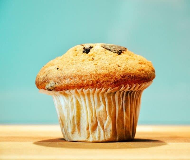 Dicker Muffin - mit Muffin Top